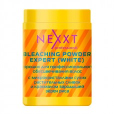 Nexxt Professional Classic Care Bleaching Powder Expert White - Белый осветляющий порошок в банке, 500 г