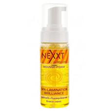 "Nexxt Professional Spa-Lamination Brilliance - Мусс-пенка ""Спа-ламинирование и Блеск-люкс"" 150 мл"