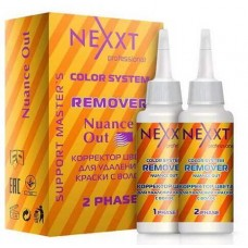 Nexxt Professional Color System Remover Nuance Out - Корректор цвета для удаления краски с волос 125+125 мл