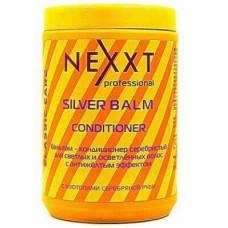 Nexxt Professional Silver Balm Conditioner - Бальзам-кондиционер серебристый для светлых и седых волос 1000 мл