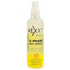 Nexxt Professional 3-phase Bio-spray - Трехфазный защитный спрей-уход, 250 мл