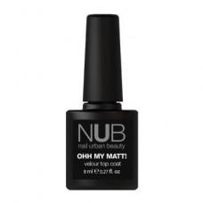 NUB Ohh My Matt - Матовый закрепитель для лака 8 мл