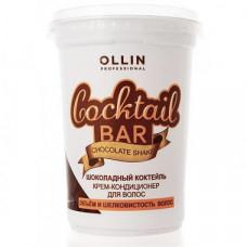 """Ollin Professional Cocktail Bar Chocolate - Крем-кондиционер для волос """"Шоколадный коктейль"""" 500 мл"""