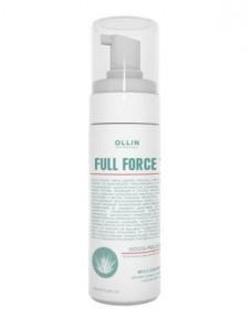 Ollin Professional Full Force Mousse-Peeling For Hair & Scalp - Мусс-пилинг для волос и кожи головы с экстрактом алоэ 160 мл