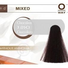 Rolland Hcolor Безаммиачная краска для волос 3,05-Шоколад, 100 мл.