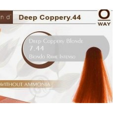 Rolland Hcolor Безаммиачная краска для волос 7,44 - Насыщенный медный блонд, 100 мл.
