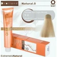 Rolland Hcolor Безаммиачная краска для волос 9,0 - Натуральный очень светлый блонд, 100 мл.