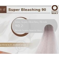 Rolland Hcolor Безаммиачная краска для волос 90,2 - Ирисовый супер-обесцвеченый блонд, 100 мл.
