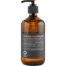 Oway Man Hair & Body Invigorating Wash - Гель-энергетик для душа для тела и волос 240 мл