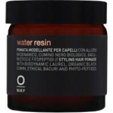 Oway Man Water Resin - Помада/смола для укладки волос средней фиксации, 100 мл