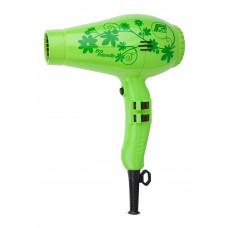 Parlux Фен для волос 3800 Ceramic Ionic Flower зелёный, 2100 Вт