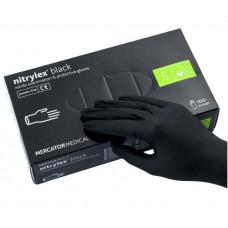 Nitrylex Перчатки нитриловые, размер XS черные - 100 штук