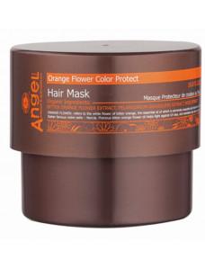 Angel Professional Provence Защитная маска для волос «Сияющий цвет» с цветком апельсина, 500 мл.