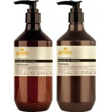 Angel Professional Provence Rosemary Hair Activating - НАБОР от выпадения волос с экстрактом розмарина 400 мл x2