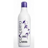 Concerto Garlic Shampoo - Шампунь с экстрактом чеснока для сухих, вьющихся, секущихся и волос склонных к выпадению, 1000 мл