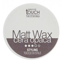 Personal Touch Matt Wax - Воск матовый без блеска сильной фиксации, 100 мл