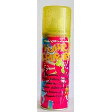 Glitter Hair Color GOLD - Спрей для волос Золотые блесточки, 125 мл