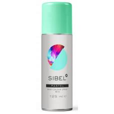 AKЦИЯ - Sibel PASTEL Hair Colour Spray - Спрей для волос окрашивающий Мятный, 125 мл