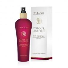 T-LAB Professional Color Protect Bi-phase Spray - Двухфазный спрей для долгого непревзойденного цвета волос 250 мл