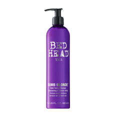 AKЦИЯ - Tigi Dumb Blonde Purple Toning Shampoo - Фиолетовый шампунь для блондинок 400 мл
