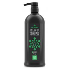 """UA Profi Clean Up Shampoo 1 Ph 7.0 - Шампунь """"Глубокое очищение"""" для всех типов волос 1000 мл"""