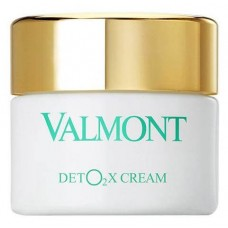 Valmont Deto2x Cream - Кислородный крем-детокс для лица, 45 мл