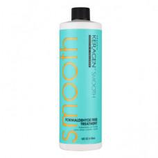 Organic Keragen - Средство для выравнивания структуры волос Formaldehyde Free Treatment, 448 мл