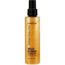 Matrix Total Results Hello Blondie Illuminator Gel - Гель-уход для волос оттенка блонд 125 мл