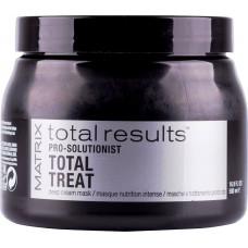 Matrix Total Results Pro Solutionist Total Treat - Интенсивно восстанавливающая маска для ослабленных волос, 500 мл.