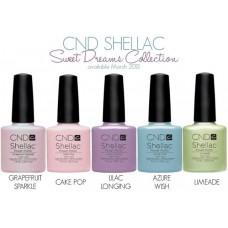 Creative CND Shellac Новые цвета