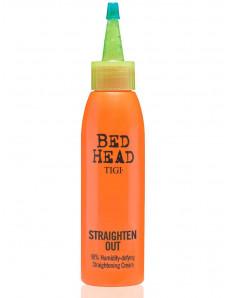Tigi Bed Head Straighten Out Straightening Cream - Разглаживающий крем под утюги 120 мл