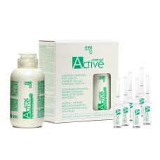 BBCOS METHOD ACTIVE Plant Stem Cells Anti-Hairloss Kit ( lotion+shampoo ) - Набор против выпадения волос на стволовых клетках (лосьон+шампунь), 6*8+150 мл.