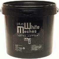 BBCOS White Meches Plus Bleaching Powder - Осветляющая пудра для волос (банка), 500 мл.