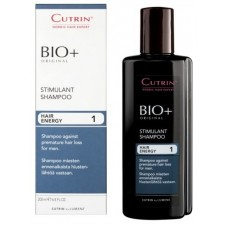Cutrin BIO+ Stimulant Shampoo - Стимулирующий шампунь от выпадения волос для мужчин, 200 мл.