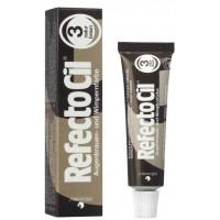 RefectoCil Краска для бровей №3 - Натурально-коричневый цвет, 15 мл