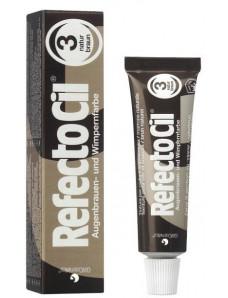 RefectoCil Краска для бровей №3, натурально-коричневый цвет.