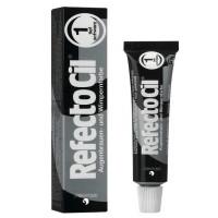 Refectocil краска для бровей №1 Dark Black глубокий-черный