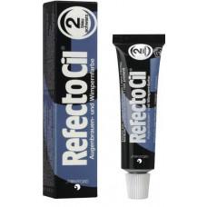 RefectoCil Краска № 2, черно-синий цвет.