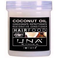 Rolland Una Hair Food Маска для обновления структуры волос с маслом кокоса, 1000 мл