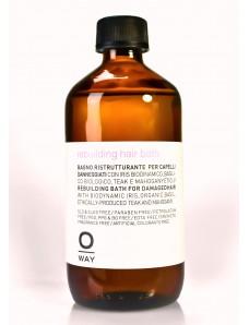 Rolland OWay Rebuilding Hair Bath Шампунь для реконструкции волос, 240 мл.