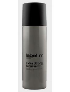 Label.m Extra Strong Mousse Мусс экстра сильной фиксации, 200 мл.