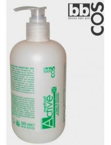 BBCOS METHOD ACTIVE Plant Stem Cells Anti-Hairloss Shampoo - Шампунь на стволовых клетках против выпадения волос, 500 мл.
