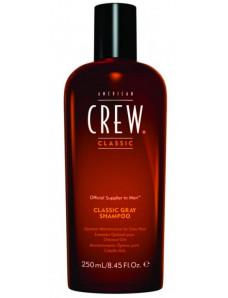 American Crew Classic Gray - Шампунь для седых волос, классический,  250 мл