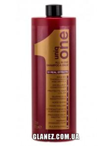 Uniq One All in one Shampoo & Balm - Очищающий шампунь-бальзам, 1000 мл