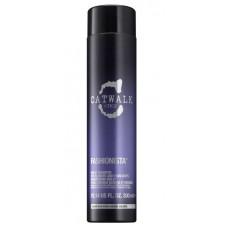 Tigi Catwalk Fashionista Violet Shampoo Шампунь увлажняющий для светлых волос, 300 мл.