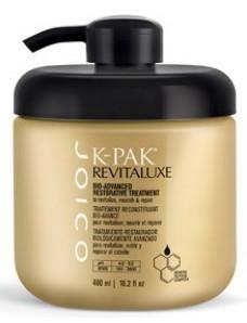 Joico K-PAK Revitaluxe Bio-Advanced Restorative Treatment - Био-маска реконструирующая с кератиново-пептидным комплексом 480 мл.