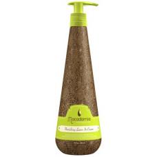 Macadamia natural oil Nourishing Leave-in cream Кондиционер несмываемый питательный с маслом арганы и макадамии 300 мл.