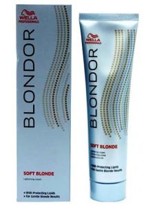 Осветляющий крем на масляной основе - Wella Professionals Blondor Soft Blonde Cream, 200 мл
