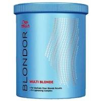 Wella Professionals Blondor MULTI BLONDE POWDER Осветляющий порошок мульти блонд, 400 мл.