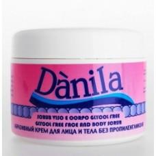 Dànila Scrub Крупнозернистый абразивный крем для лица и тела, 250 мл.